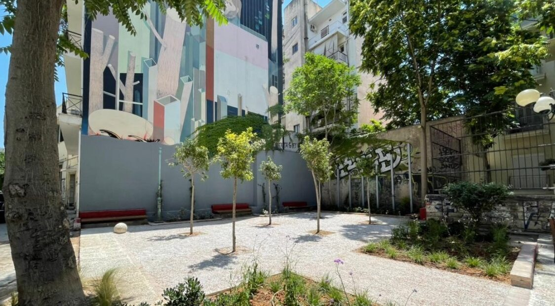 Athens Welcomes the Unveiling of Another 'Pocket Park'