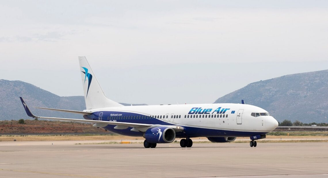 Blue Air Now Operating 17 Weekly Frequencies to 5 Greek Destinations