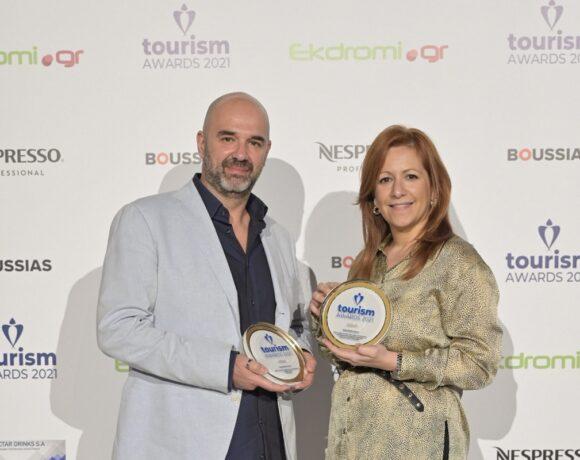 Διπλή χρυσή βράβευση για τη Global Media στα Tourism Awards 2021