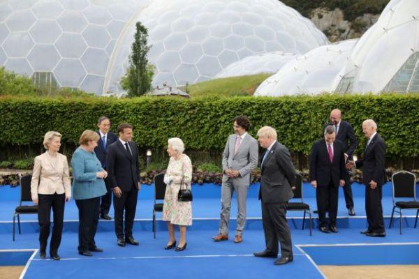 Η δεξίωση της βασίλισσας Ελισάβετ στους ηγέτες της G7 Πρώτη συνάντηση με τον Τζο Μπάιντεν