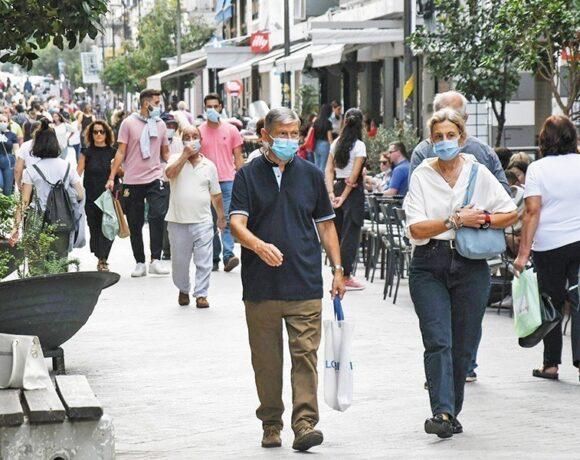 Κορωνοϊός: Στα 375 τα νέα κρούσματα – 238 οι διασωληνωμένοι, 12 θάνατοι