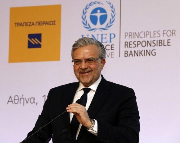 Μεγάλου: «Ολοκληρώνονται σε χρόνο ρεκόρ οι ενέργειες κεφαλαιακής ενίσχυσης – Οι πρωτιές της Τράπεζας Πειραιώς»
