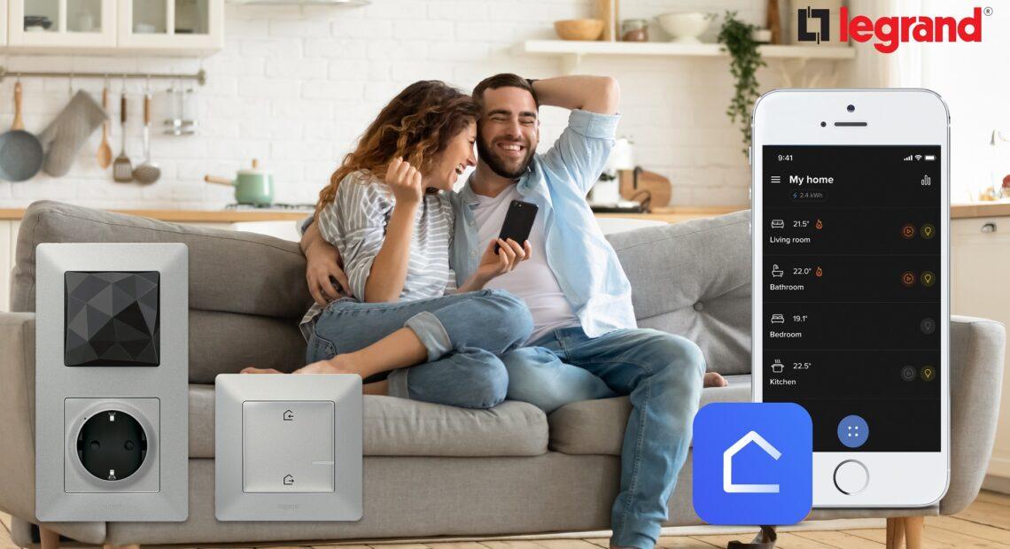 """Το Smart Home της Legrand είναι … """"έξυπνο"""" από κάθε πλευρά"""