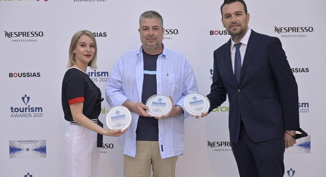 Τρία ασημένια βραβεία για το '18-24 Travel' στα Tourism Awards 2021