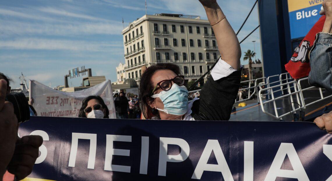Υπουργείο Εργασίας: «Iσχνή» η συμμετοχή στην απεργιακή κινητοποίηση