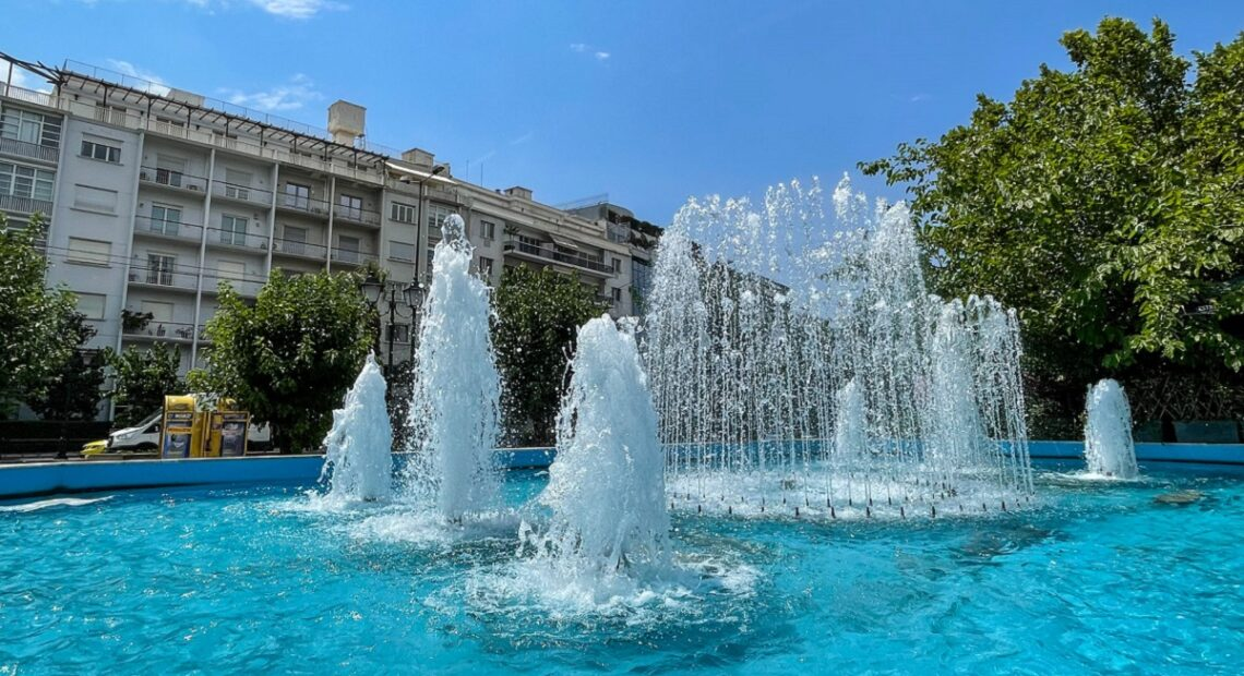 More Landmark Fountains 'Revive' in Athens