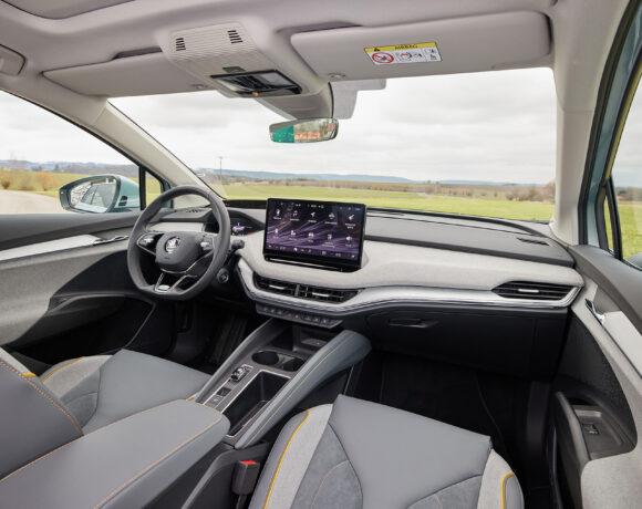 SKODA ENYAQ iV: Όλες οι τεχνολογίες του νέου ηλεκτρικού SUV