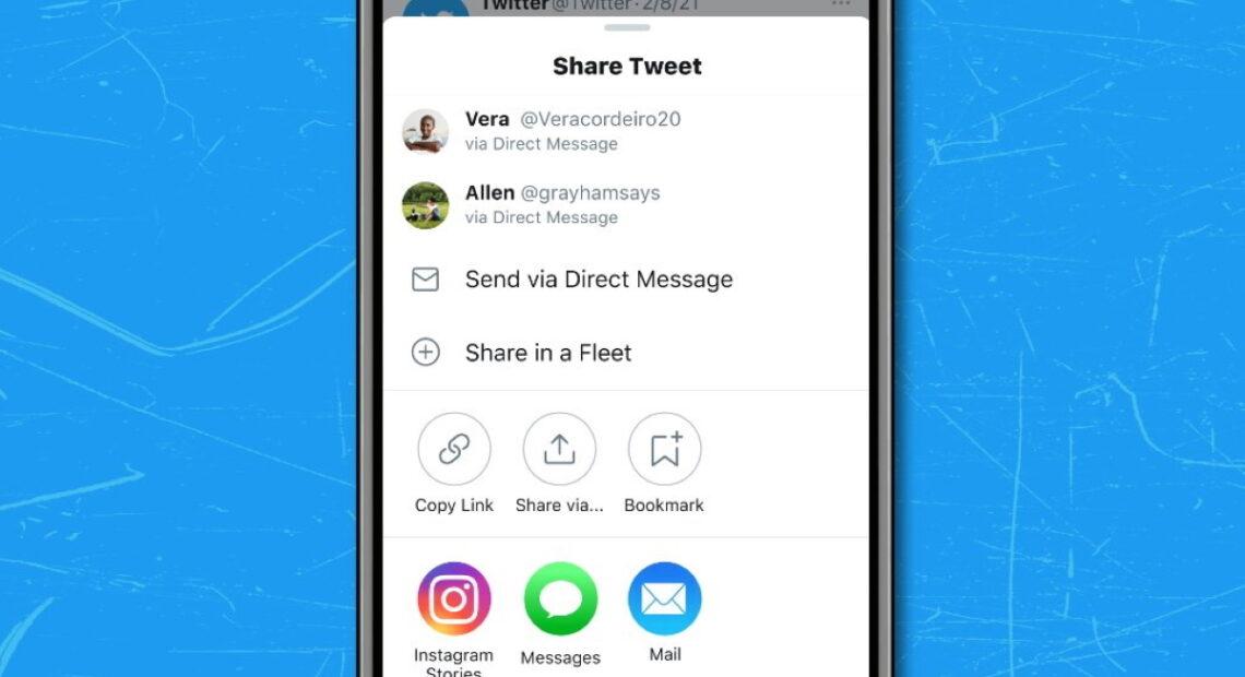 Twitter στο iOS: Διαμοιρασμός tweets ως stories στο Instagram