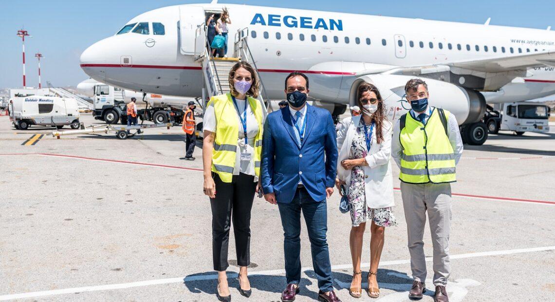 AEGEAN Begins Operation of Seasonal Base on Mykonos