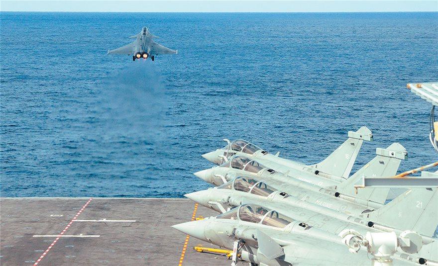 Γαλλία: Την Τετάρτη η τελετή παραλαβής από την Ελλάδα για το πρώτο μαχητικό αεροσκάφος Rafale