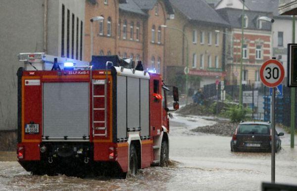 Γερμανία: Χάος από τις πλημμύρες – Βγήκε ο στρατός για βοήθεια