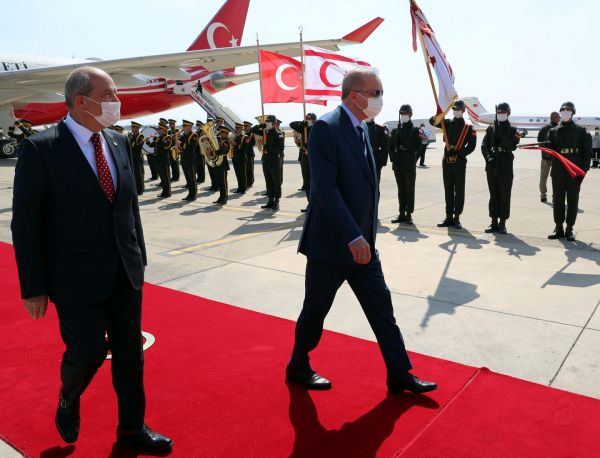 Ερντογάν: Η εμμονή στη «λύση δύο κρατών» και η ένταξη της Κύπρου στο εθνικιστικό όραμά του