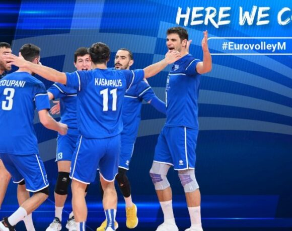 Ευρωβόλεϊ ανδρών: Με Ουκρανία η πρεμιέρα της Εθνικής ανδρών
