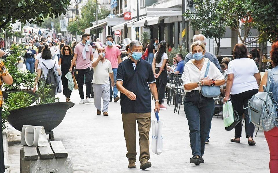 Κρούσματα κορωνοϊού: Aύξηση κατά 38% κάθε τρεις ημέρες
