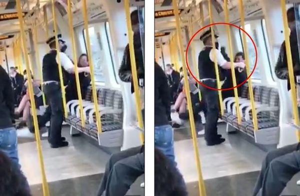 Λονδίνο: Άνδρας γρονθοκόπησε αστυνομικό που του έκανε παρατήρηση για μάσκα