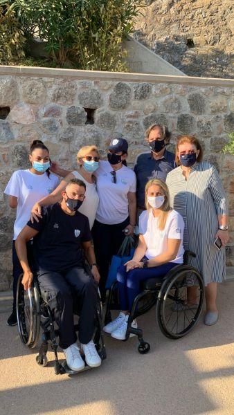 Στην Ακρόπολη η Ελληνική Παραολυμπιακή Ομάδα λίγο πριν φύγουν για Τόκιο