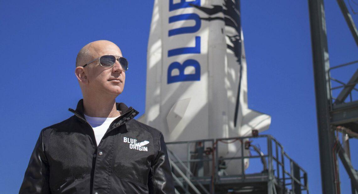Τζεφ Μπέζος: Πήρε άδεια εκτόξευσης στο διάστημα