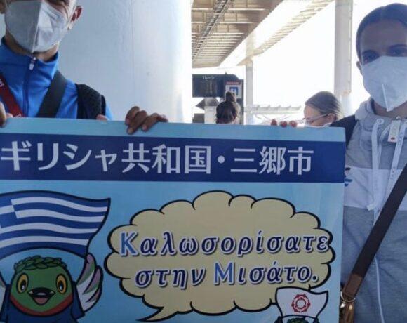 Τόκιο 2020: Έφτασε η Εθνική, αναμονή στο αεροδρόμιο και χωρίς συγκάτοικο στα δωμάτια