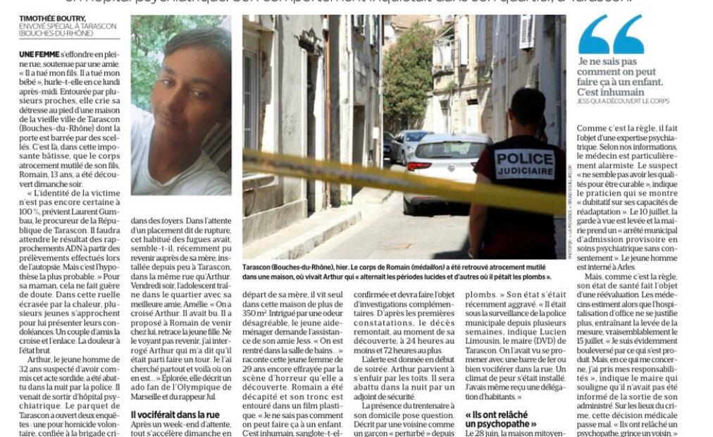 Φρίκη στη Γαλλία: Κανίβαλος σκότωσε και έφαγε 13χρονο αγόρι