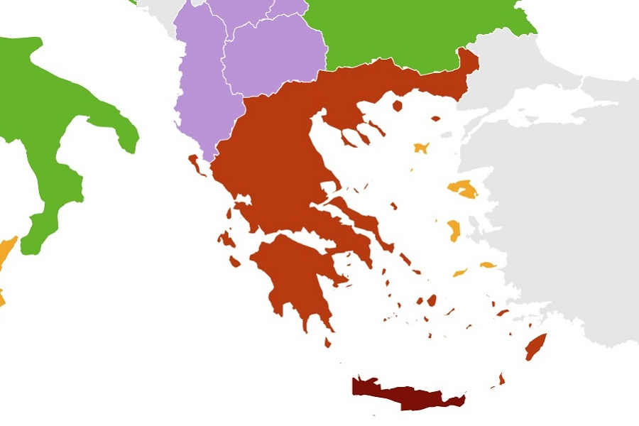 Covid-19: Norway Applies Restrictions to Travelers from Some Greek Regions