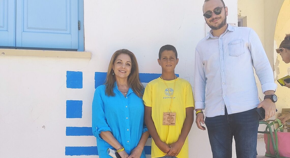 GNTO President Shows Support to 'Clean it Like Greek' Initiative