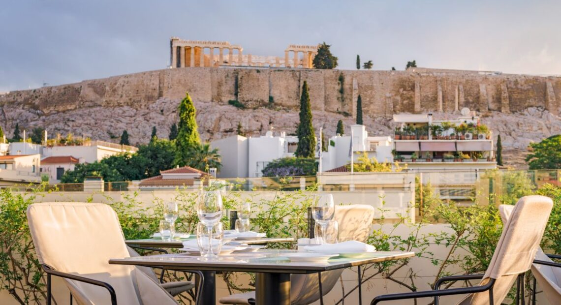 Herodion Hotel's 'Point-a' Gastronomy and View is an Athens Must