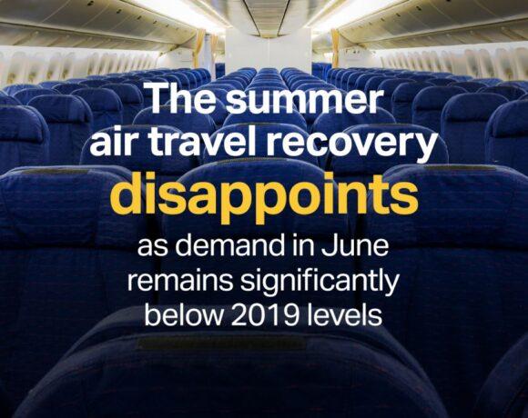 IATA: June Shows No Recovery for International Air Travel
