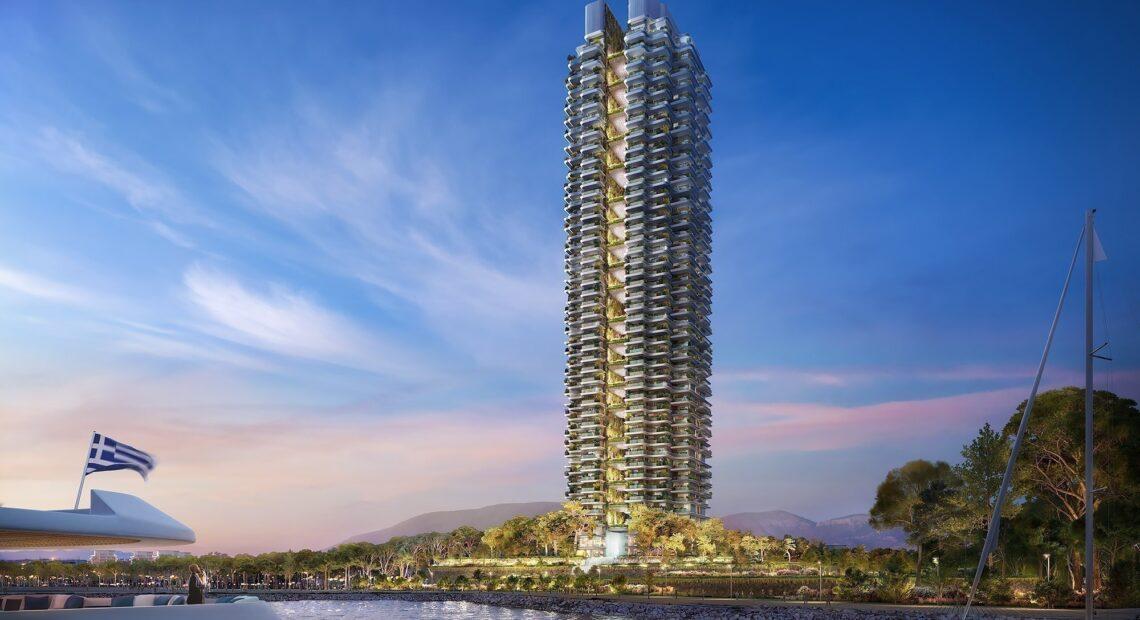 Lamda Development: Ισχυρό ενδιαφέρον για τα διαμερίσματα στον ουρανοξύστη στο Ελληνικό