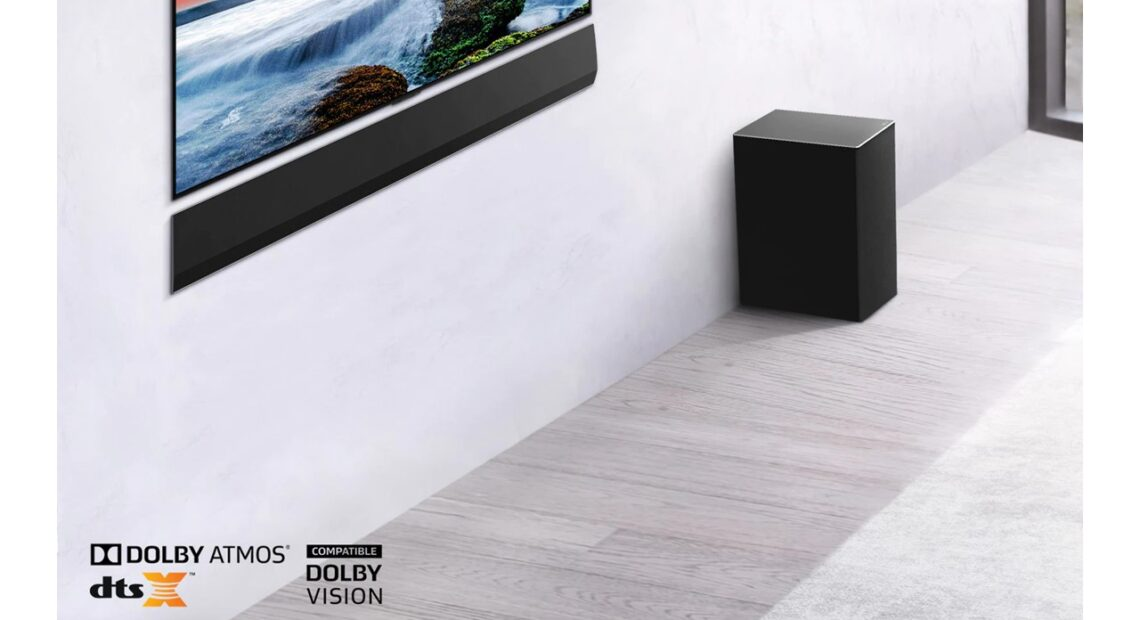 LG Soundbar G1: Sound bar με ήχο Dolby Atmos και DTS:X