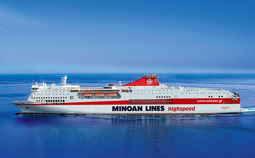 Minoan Lines: 100% of Employees Vaccinated Against Covid-19