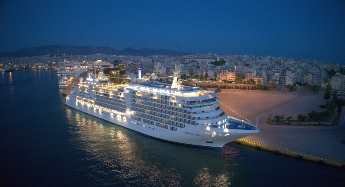 Piraeus Hosts Official Naming Ceremony of Silversea Cruises Newest Ship