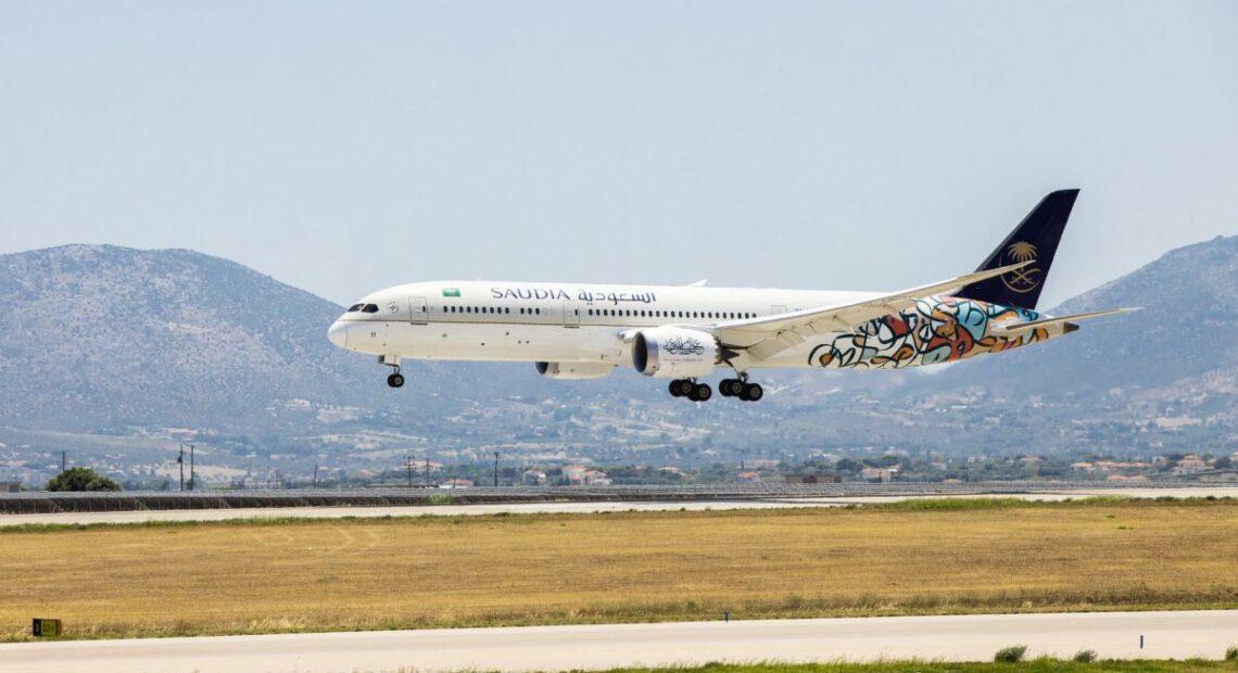SAUDIA: Direct Flights Between Saudi Arabia and Athens Four Times a Week