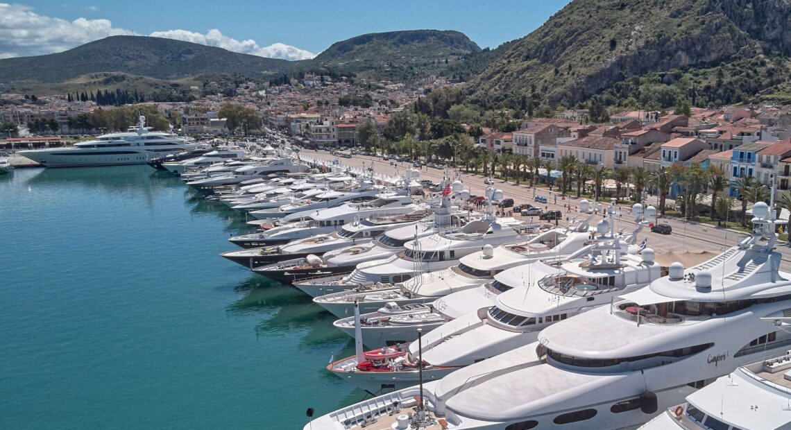 To Mediterranean Yacht Show επιστρέφει στο λιμάνι του Ναυπλίου