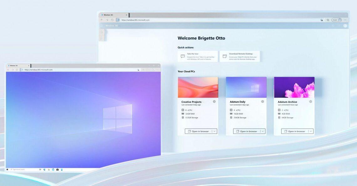 Windows 365: Χρήση Windows 11 από παντού με συνδρομή