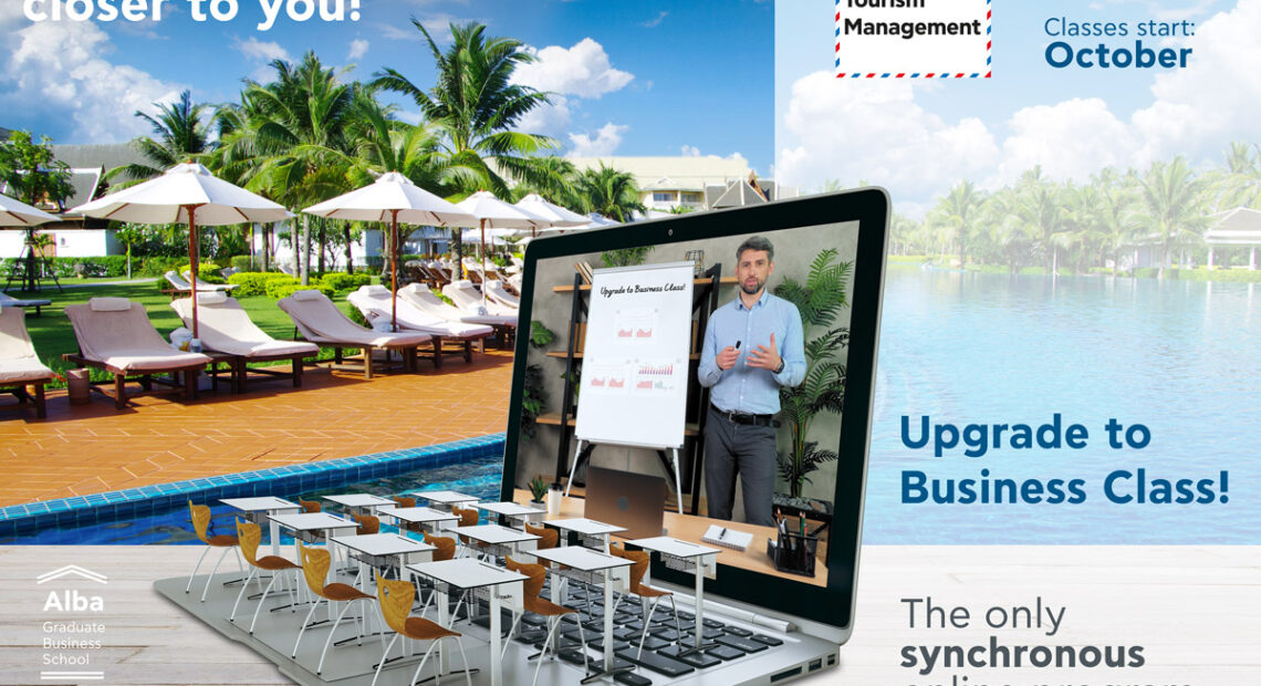 Alba Graduate Business School Launches 1st Synchronous Online MSc in Tourism Program