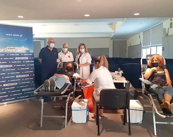 ANEK Lines Holds 17th Blood Donation Drive