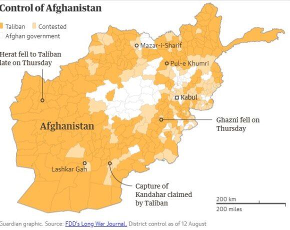 Αφγανιστάν – Οι Ταλιμπάν κατέλαβαν και την Κανταχάρ – Απομένει μόνο η πρωτεύουσα Καμπούλ