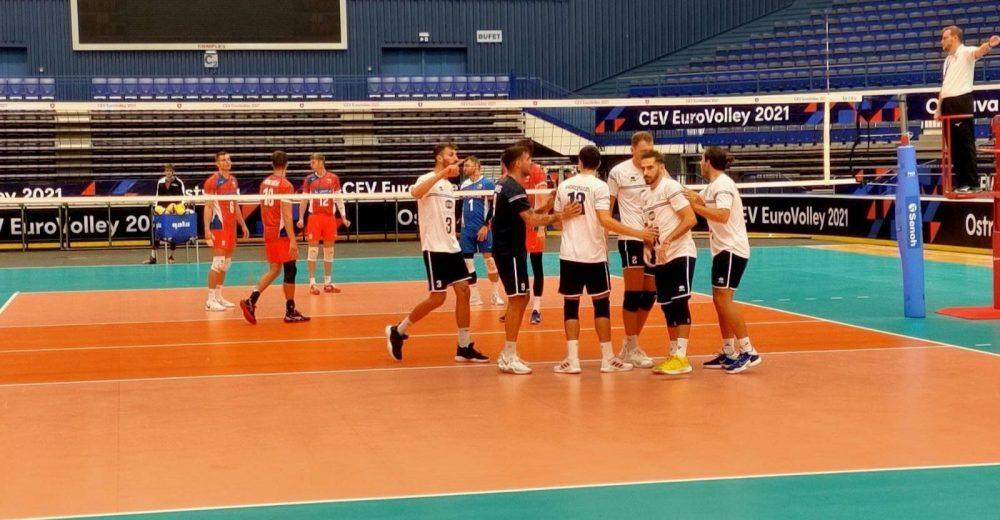 Ευρωβόλεϊ ανδρών: Ισοπαλία στην πρόβα τζενεράλε της Εθνικής με την Τσεχία