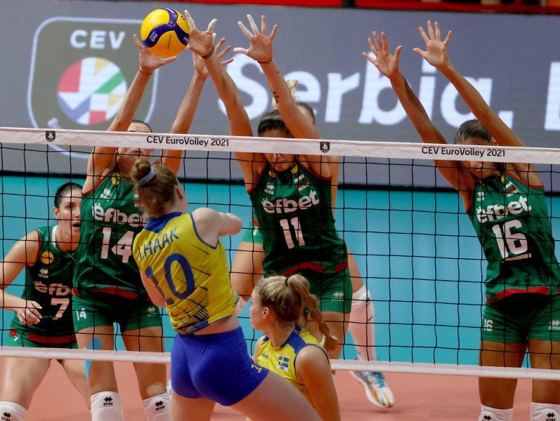 Ευρωπαϊκό πρωτάθλημα γυναικών: Η απίθανη Σουηδία έκλεισε το σπίτι της Βουλγαρίας!