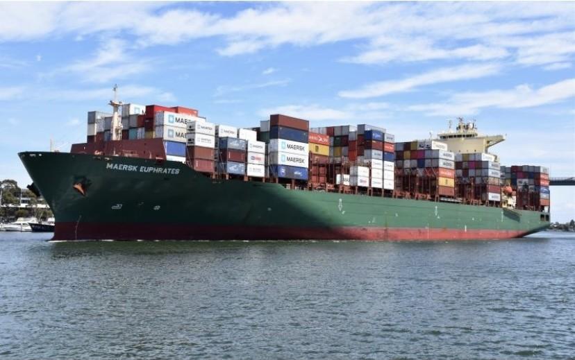 Η Danaos παρέλαβε το container ship Maersk Euphrates