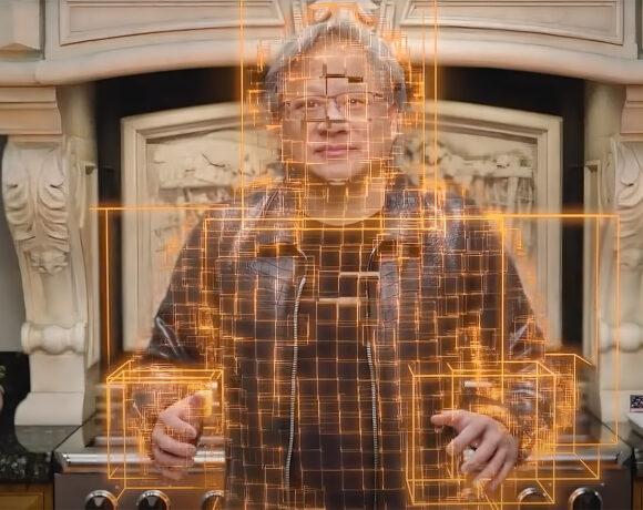 NVIDIA: Ο CEO εμφανίστηκε… ψηφιακός σε κεντρική ομιλία