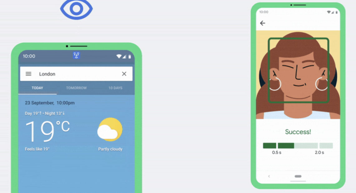 Android: Χειρισμός του smartphone μόνο με το πρόσωπο