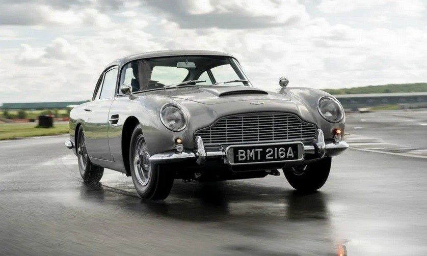 Aston Martin DB5: Σταθερή αξία για τον Μποντ