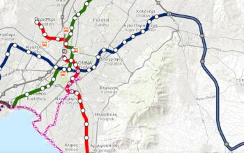 Athens Transport Organization Launches New Interactive Map for Commuters