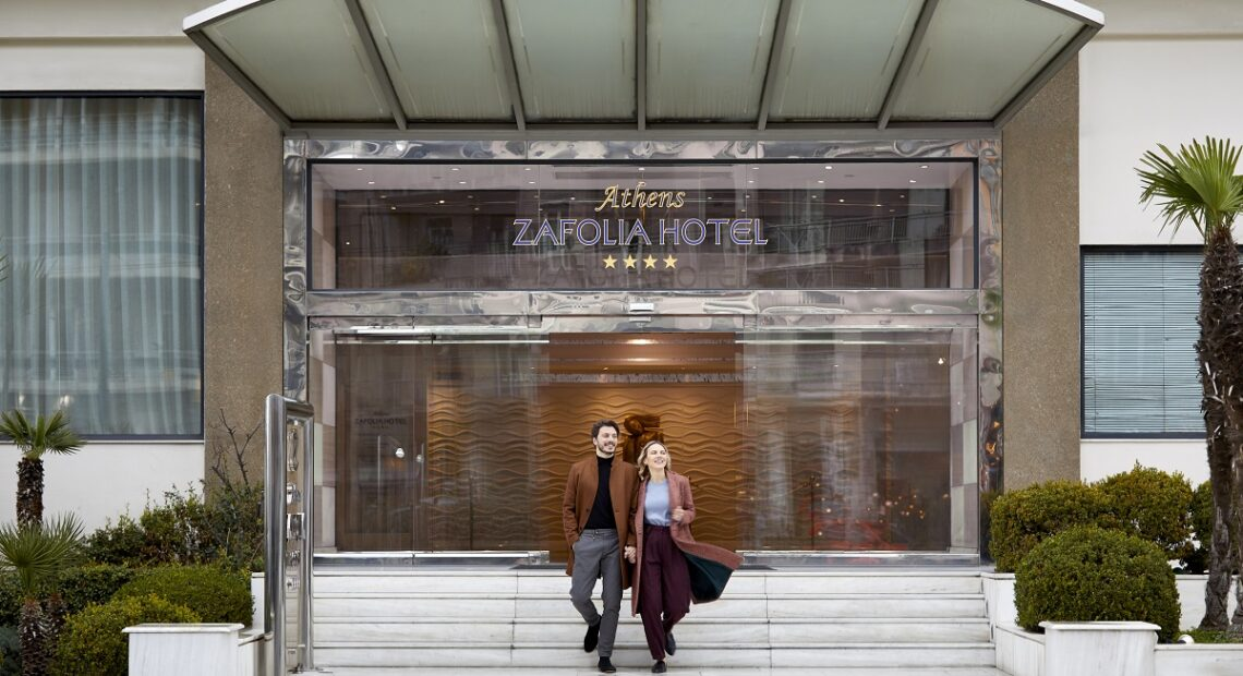 Athens Zafolia Hotel is Open and Welcoming Guests