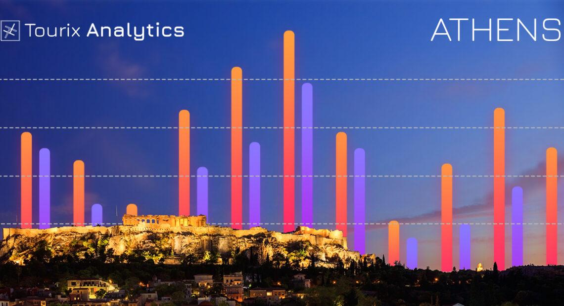 Αυξημένη η τουριστική ζήτηση από τις ΗΠΑ μέσω διαδικτύου για την Αθήνα τον Αύγουστο | ΔΙΑΓΡΑΜΜΑΤΑ