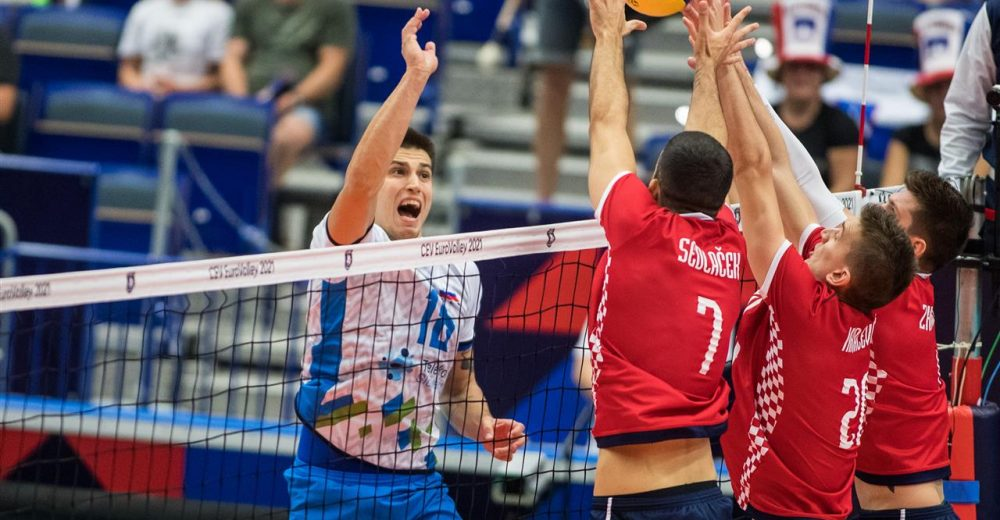 Ευρωβόλεϊ ανδρών: Η Σλοβενία νίκησε τον Άντριτς και πέρασε στους 8