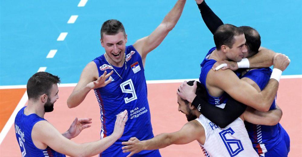 Ευρωβόλεϊ ανδρών: Τα χρειάστηκε η Σερβία, 3-2 την Τουρκία