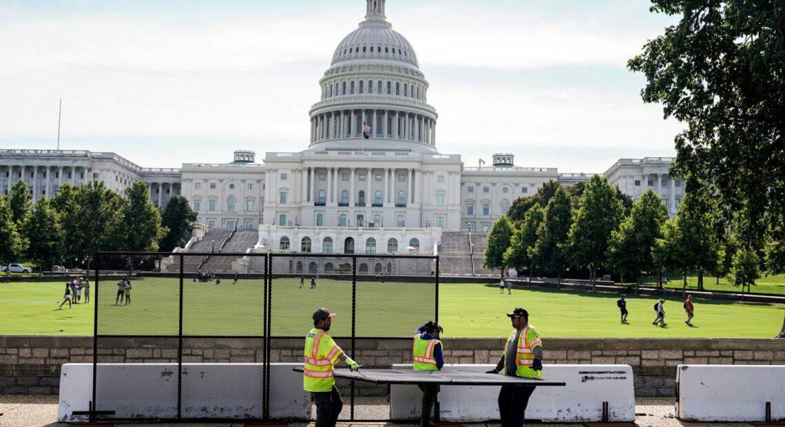 ΗΠΑ – Επανέρχεται ο φράχτης ασφάλειας γύρω από το Καπιτώλιο – Ανησυχία για τη διαδήλωση «Δικαιοσύνη για την 6η Ιανουαρίου»