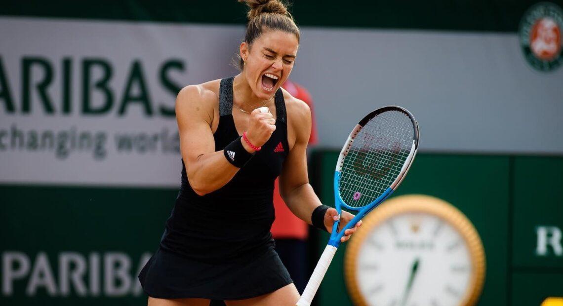 Μαρία Σάκκαρη: Πρόκριση στον τελικό του Ostrava Open (vid)